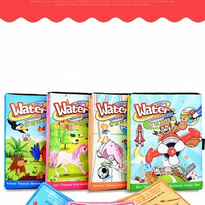 Children Magical Writing Book Baby Puzzle Early Education Toy Painting Ablum F9