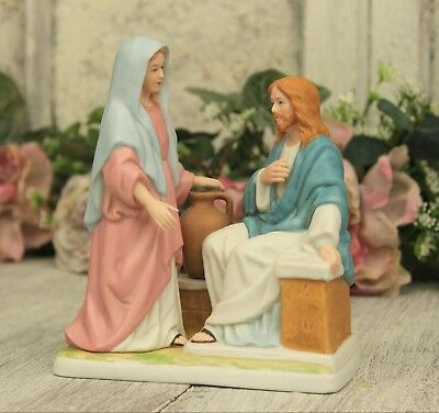Homco Jesus figurine Living Water #8813 - Greatest Stories Ever Told