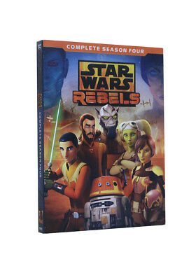 Star Wars: Rebels Complete Season 4 [New DVD] USA SELLER Fast Shiping Brand New