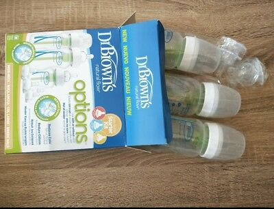 Dr Browns Anti-Colic Wide Neck Starter Kit