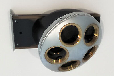 Leitz Microscope Diavert Quintuple Objective Nosepiece in Very Good Condition
