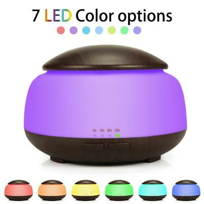 LED Humidifier Ultrasonic Essential Oil Purifier Home Air Aroma Diffuser 300 ML
