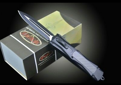 Microtech-double Peak Knife Outdoor Tactical Knife Collection Gift New