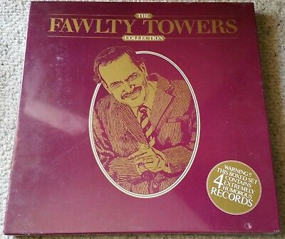 The Fawlty Towers Collection 4LP Boxed Set NEW & Sealed