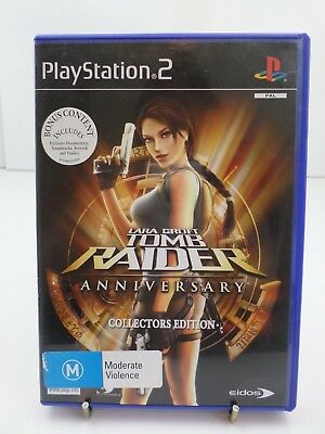 Lara Croft Tomb Raider Anniversary Collectors Edition for Playstation 2  2X DISC