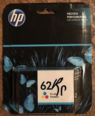 (New) HP 62 Tri-color Ink Cartridge Exp 04/2018