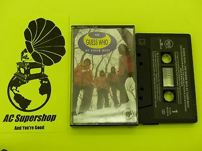 The Guess Who at their best - Cassette Tape
