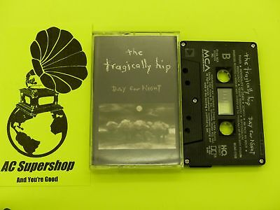 The Tragically Hip days for night - Cassette Tape