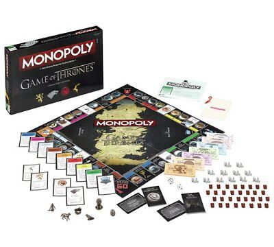 Game of Thrones Monopoly Board Game Game Party Card Games Cards MELBOURNE