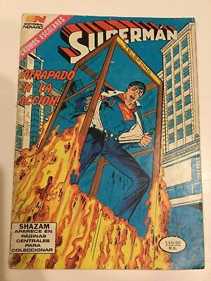 1985 Spanish Comics Serie Aguila #1523 Superman Mexico Novaro Español