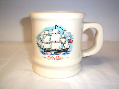 Vintage Old Spice Grand Turk Coffee Mug,Estate Item