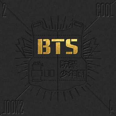 BTS KPOP BANGTAN BOYS 1st Single Album [2 Cool 4 Skool] CD + Photobook