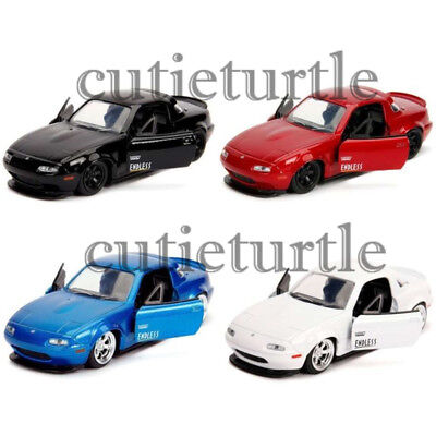 Jada JDM Tuners 1990 Mazda Miata Hard Top 1:32 Diecast Model Toy Car 30952-DP1
