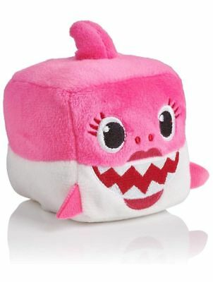 Pinkfong Mommy SHARK Sound Plush Doll CUBE toy - ENGLISH SONG NWT Ready to ship
