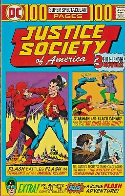 Justice Society Of America  100 Page Super-Spectacular  $6.95 One-Shot Dc Nice!!