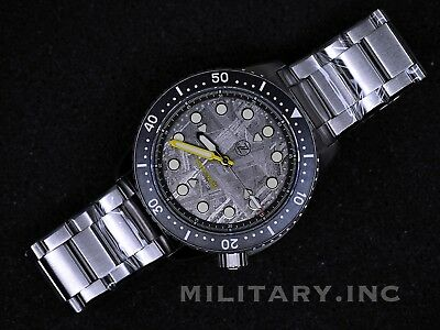 ✅ Zelos Great White Steel Meteorite Diver 1000M International Shipping Us Dealer