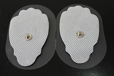 REPLACEMENT ELECTRODES PADS (30) Large - for Digital Massagers, TENS Snap on