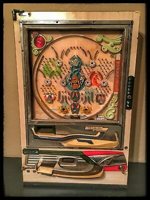 Vintage Nishijin Japan Super DX Pachinko Pinball Machine PARTS or REPAIR