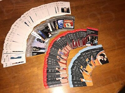 Starbucks / iTunes Pick of the Week Lot of 351 Cards HTF RARE Song App Book TV
