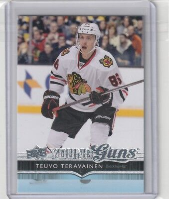 2014-15 Ud Series 1 Young Guns #214 Teuvo Teravainen 14-15 Upper Deck Rc Yg One