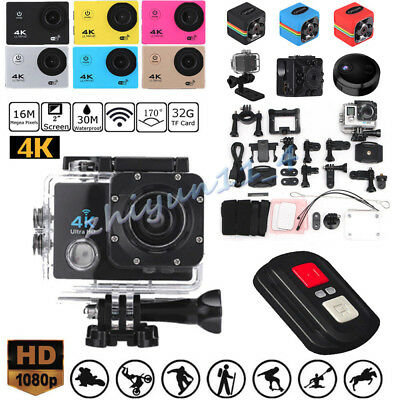 SJ9000 4K Full HD 1080P HDMI WIFI Waterproof Sport Camera WiFi Action Camcorder