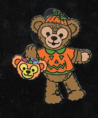 Halloween Costumed Duffy Trick-or-Treat Candy Basket Disney Pin 91547