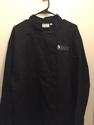 Southern New Hampshire Hospital Chef Works Shirt. Size XL