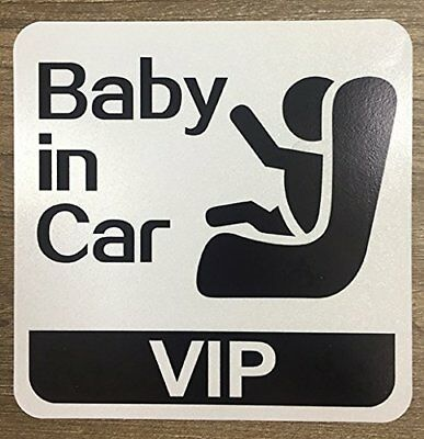 Set of x2 Baby On Board Safety Stickers for All Cars Trucks SUV