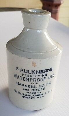 Faulkner & Co Sydney Waterproof Oil For Harness Boots & Shoes
