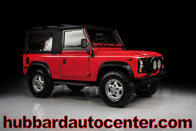 1997 Land Rover Defender 90 2dr Convertible Soft-Top 1997 Land Rover Defender D90 Soft-top, Only 28,000 Miles NAS, WOW!