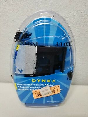 DYNEX VHS-C to VHS Video Cassette Adapter DX-DA100491 NEW SEALED