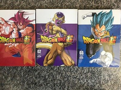 DRAGON BALL SUPER All New Sealed (USA SELLER)