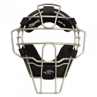 Diamond DFM-UMP BL Ultra-Lite Big League Baseball/Softball Umpire Mask - Silver