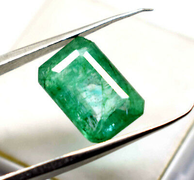 Igl Certificate Online Verify 4.25 Ct Natural Emerald Cut Beautiful  Emerald