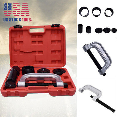 4 In 1 C-Frame Ball Joint Press Truck 2WD & 4WD Brake Removal Server Tool Kit US