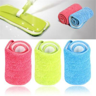 Reusable Replacement Mop Head Microfiber Pad Household Floor Dust Cleaning MA