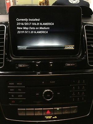 MERCEDES BENZ COMAND NTG 5 1 Map Update Activation Code with Maps (2019)  V11 0