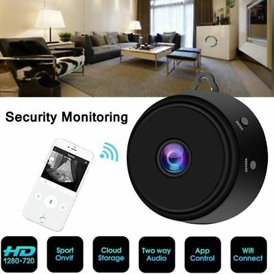 Mini WIFI Hidden Spy Camera Wireless 1080P Night Vision Motion Detection Home