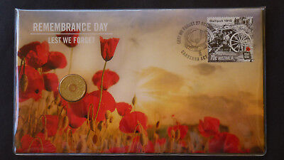 2015 $2 Remembrance Day Lest We Forget Pnc