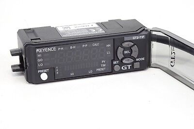 Keyence GT2-71P Amplifier Unit, DIN Rail Type, PNP