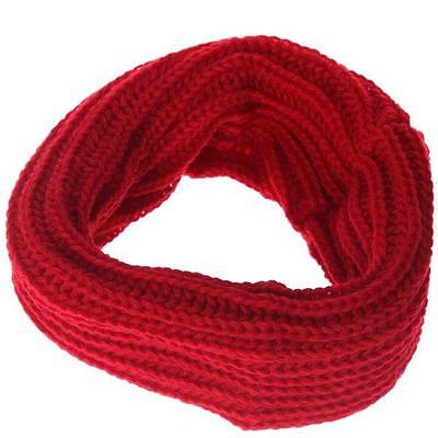 Women's Knit Infinity Scarf Chunky Crochet Circle Loop Scarf Cowl Neck Wrap WT