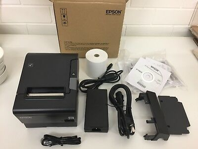 Epson TM-T88VI-581 POS Printer Black