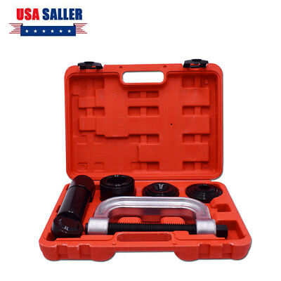 4-IN-1 Ball Joint Service Kit Tool Set 2WD&4WD Vehicles Remover Install US