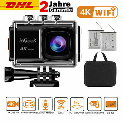 Action Kamera Underwater 30M WIFI Ultra HD 4K 20MP Helm Kamera Cam Sports Camera