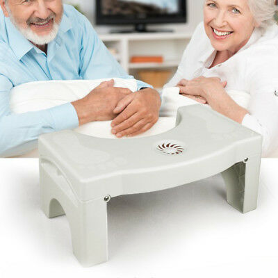 Bathroom Toilet Foot Stool Sit Potty Nature Comfort Squat Aid For Constipation