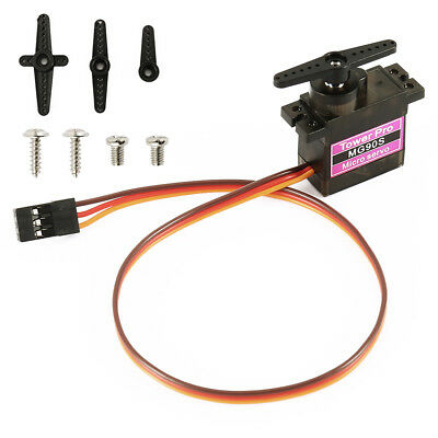1/5/10 Pcs MG90S Micro Metal Gear 9g Servo for RC Airplane Helicopter Boat Car