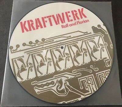 "Kraftwerk - Ralf And Florian 12"" Vinyl Picture Disc"