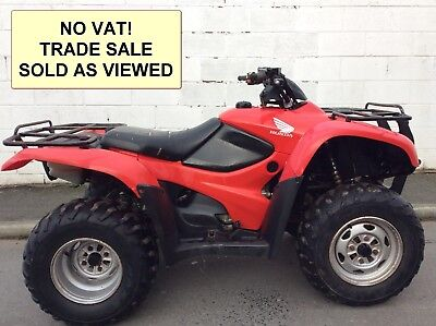 NO VAT! HONDA TRX420 S FM 4x4 2007 QUAD ATV FOUR WHEELER FOURTRAX MUD OFF ROAD