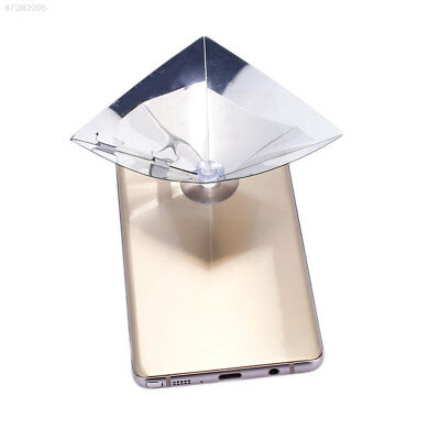 163E Hologram Film for 3.5-6inch Phone Photo Studio Shop Window Cinema Foldable