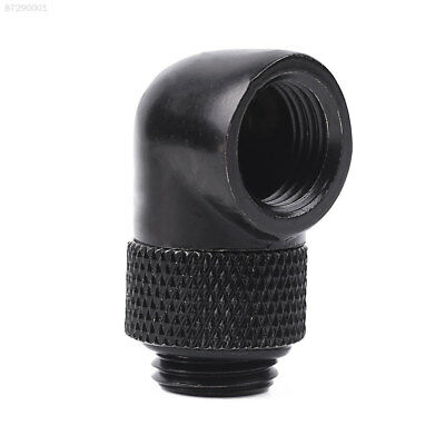 DBD6 Alloy 90 Degree Rotary Fitting G1/4 Thread Nozzle Water Cooling Adapter